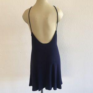 Topshop Dresses - NWOT! Nordstrom Topshop Navy Dress sz 12!